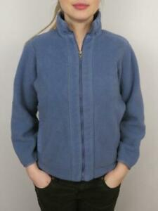 Vintage-Patagonia-Women-039-s-Synchilla-Fleece-Jacket-Size-Small-Blue-Full-Zip-Coat
