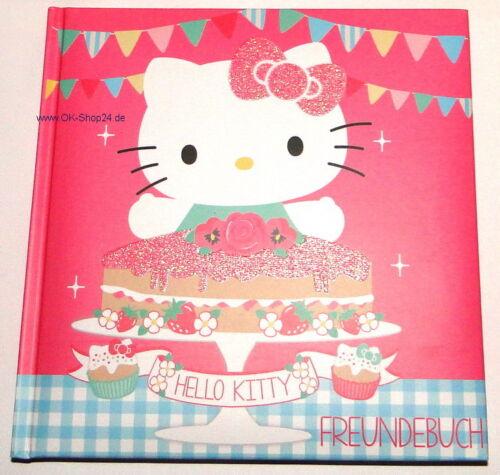 Hello Kitty Tea Party Freundebuch Freundschaftsbuch Buch NEU