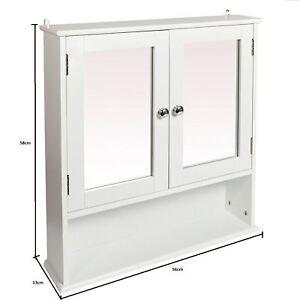 DOUBLE-MIRROR-DOOR-BATHROOM-WOODEN-CABINET-INDOOR-WALL-MOUNTABLE-BATHROOM-SHELF