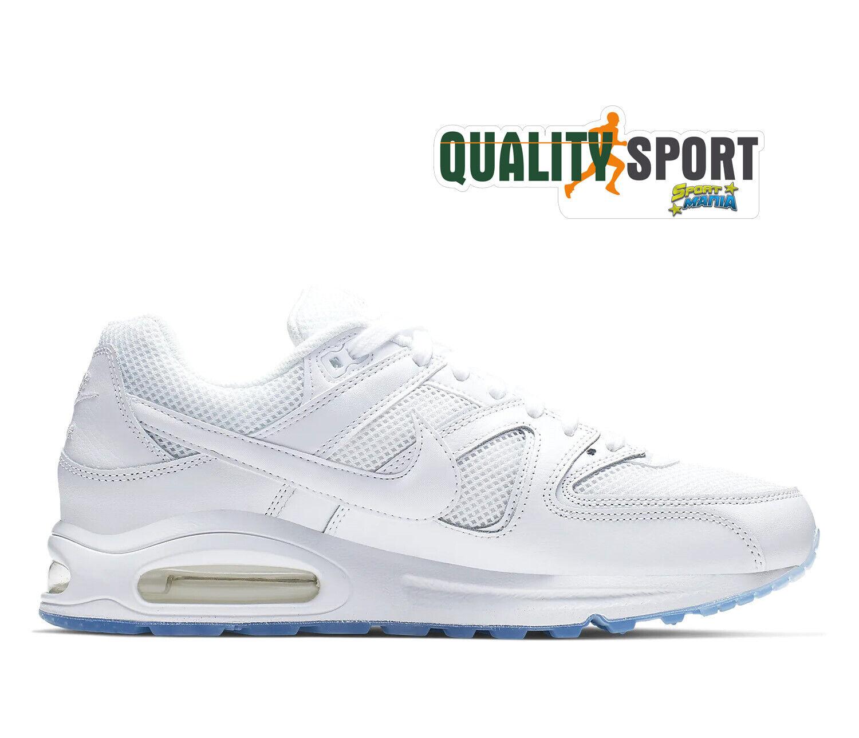 Dettagli su Nike Air Max Command Bianco Scarpe Shoes Uomo Sportive Sneakers 629993 112 2020