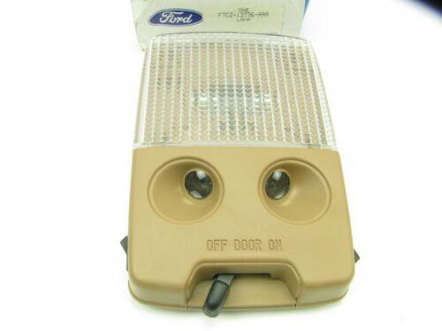 NEW GENUINE OEM 1997-1999 Ford Escort Interior Dome Map Light Lamp TAN