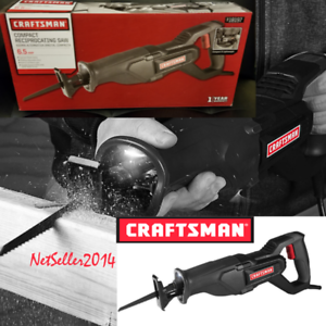 NEW-Craftsman-6-5-Amp-Reciprocating-Saw-With-LED-Light-3308-3-FREE-Blade
