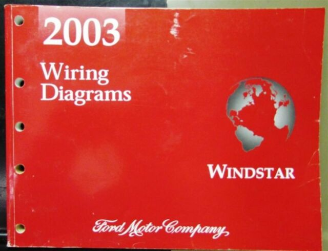 2003 Ford Dealer Electrical Wiring Diagram Service Manual