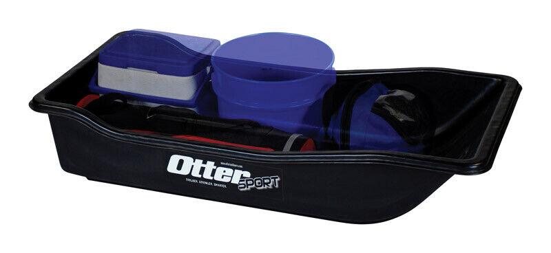 Otter  Sport  Polyethylene  Utility Sled  43 in.