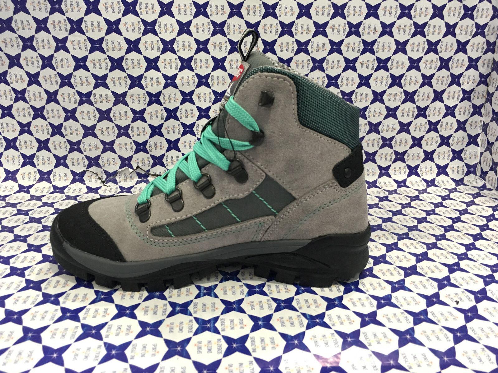 Zapatos Trekking Olang Junior Infantil - - - Tarvisio Tex - gris verde - TARVIKID509 5616cc