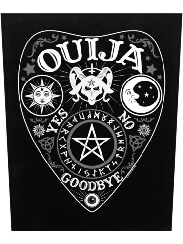 Patch Ouija Planchette Backpatch Black 29.5x36cm