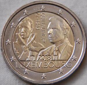 Belle Pièce Commémorative Neuve De 2 Euro ( Luxembourg 2018 )