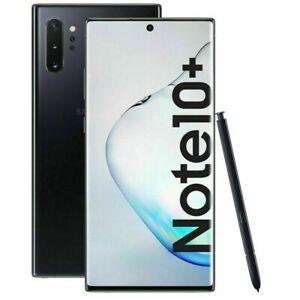 Samsung Galaxy Note 10 Plus 256GB DS Noir parfait état Utilisé A.A176