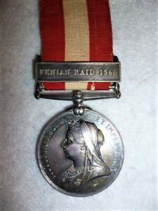 Canada-General-Service-Medal-clasp-Fenian-Raid-1866-to-The-Rifle-Brigade
