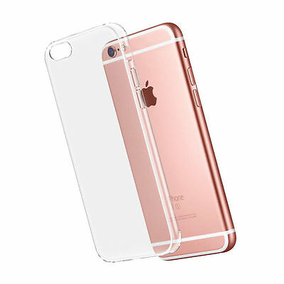For iPhone 11 MAX 8 7 6 Plus Ultra Thin Clear Soft Silicone TPU Transparent Case