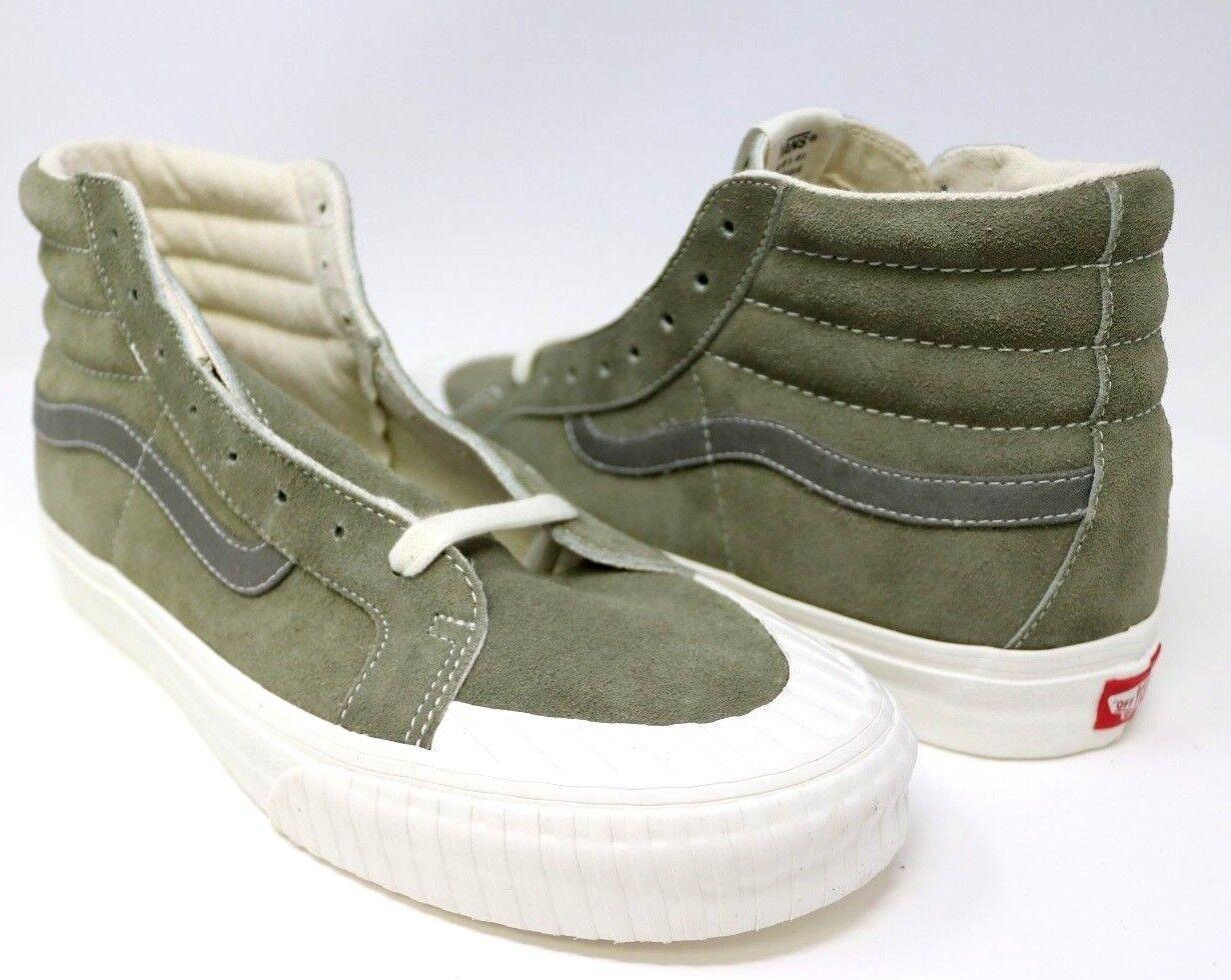 Vans Vans Vans SK8-Hi Zip Reissue Vintage Military Dusty Green VN0A3TKPUCK Mens 11.0 c41ffa
