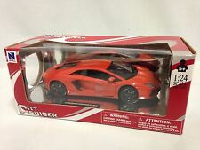 Lamborghini Aventador LP700-4 1:24 Scale Diecast Collectible,New Ray Toys, Red