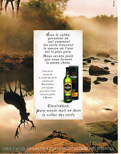 PUBLICITE ADVERTISING  2000   GLENFIDDICH   whisky