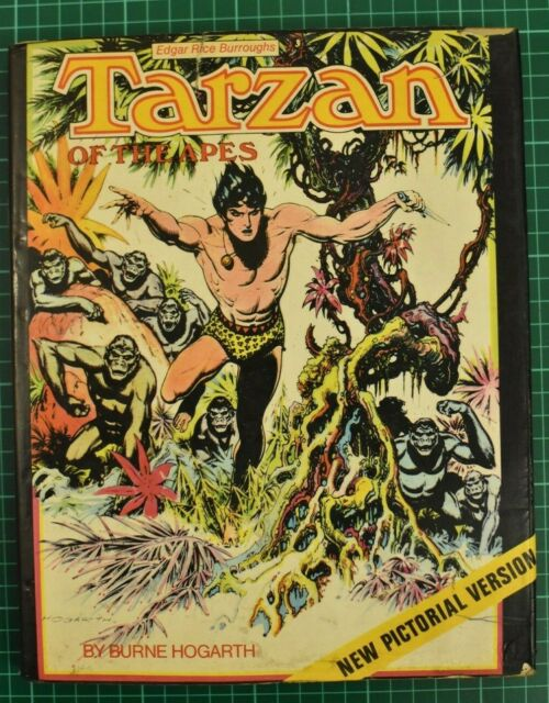 Tarzan of the apes Burne Hogarth isbn 0600386899