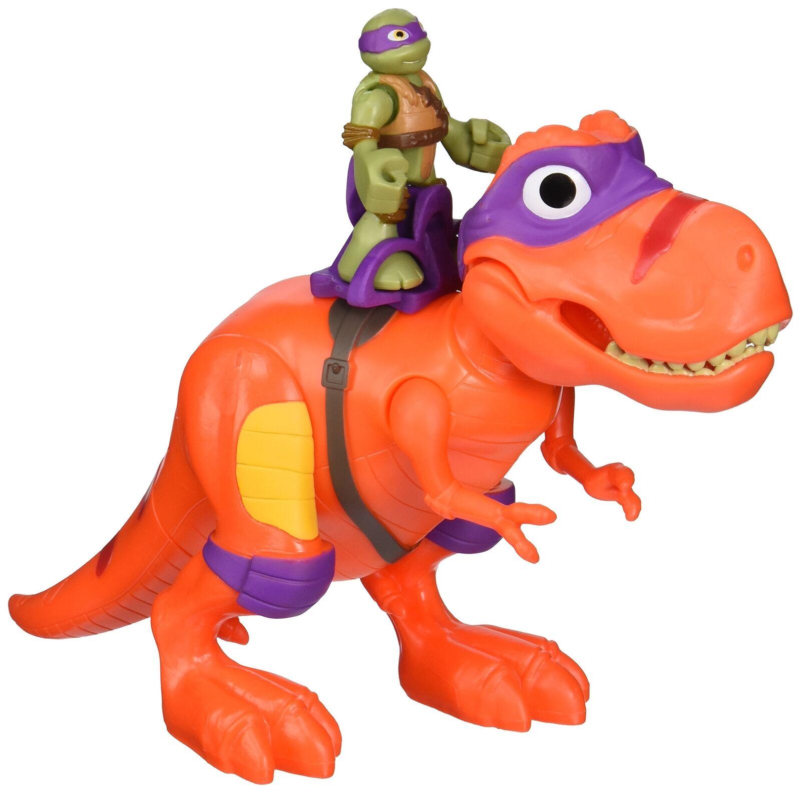 Teenage mutant ninja turtles - cool muschel helden t - rex mit donatello