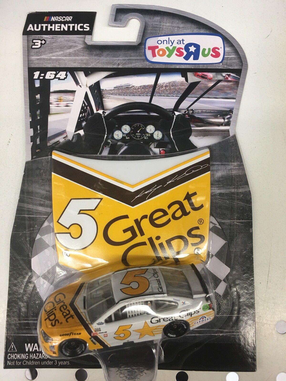 NASCAR AUTHENTICS 2017 KASEY KHANE GREAT CLIPS 1 64 DIECAST DARLINGTON SERIES