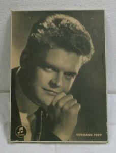 50er-Publicidad-Hermann-Prey-Opernsanger-Eventos-Signo-de-47x35-Columbia-50s