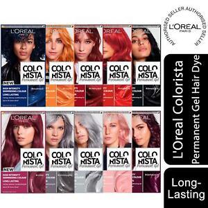 3 Pack L'Oreal Paris Colorista Hair Colour Long-Lasting Permanent Gel Hair Dye