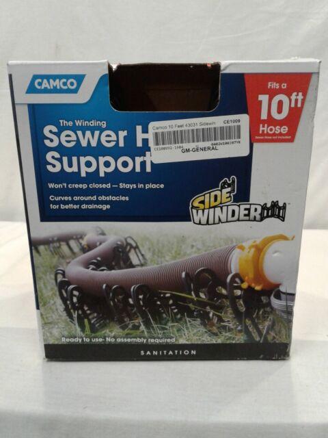 Camco 43031 Sidewinder Sewer Hose Support 10ft For Sale Online Ebay