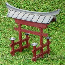 New Vivid Arts Miniature World -Japanese Miniature Garden- Temple Gate-15cm Tall