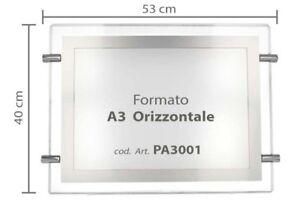 Panel-Led-Publicidad-A3-Horizontal-12V-8W-Retroiluminado-Para-Led
