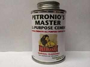Petronio's Master All Purpose Cement Glue Shoe Repair Adhesive Glue 4 oz.
