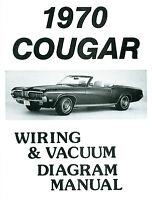 1970 Cougar Wiring Diagram /vacuum Manual