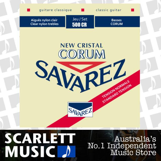 Savarez 500CR ( 500-CR ) Corum Cristal Classical Guitar Strings Normal Tension