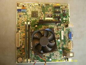 Details about HP Pro 3500 Motherboard # 696234-001 w/Core i3 3240, 4GB  DDR3,Heatsink-Fan, WiFi