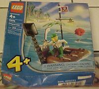 2004 Lego 7070 catapult Raft 23 Pcs Sealed Free Shipping Rough Box