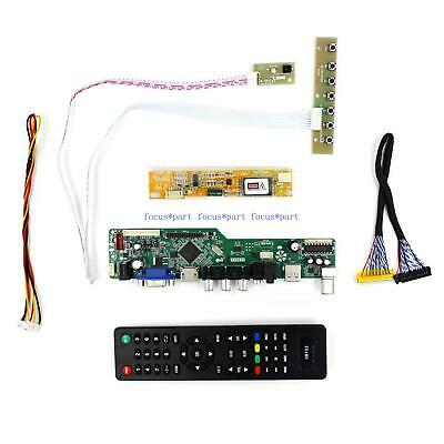Kit for B133EW01 V.4 TV+HDMI+VGA+USB LCD LED screen Controller Driver Board