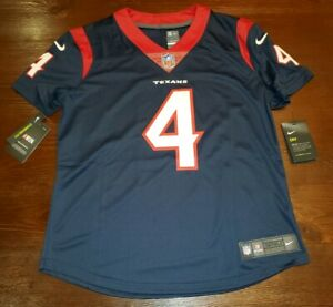 newest f02e7 7c173 Details about WMNS Nike On Field Houston Texans Deshaun Watson #4 NFL  Jersey Women's SZ M $150