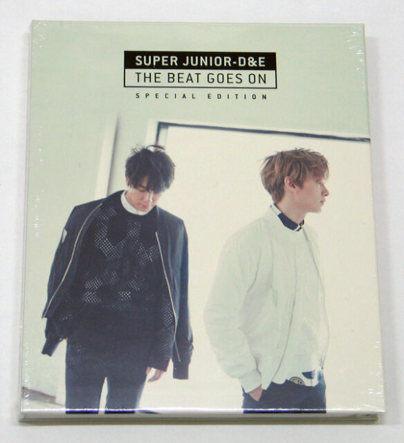 Super Junior D&E DONGHAE & EUNHYUK - The Beat Goes On [Special Edition] CD K-POP