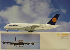 Limox Wings 1:200 Airbus A380 Lufthansa Frankfurt D-AIMA + Herpa Wings Katalog