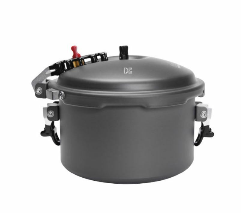 Korea Camping Pressure Rice Cooker Steamer 23 People Portable  Pot 800g+Case  online retailers