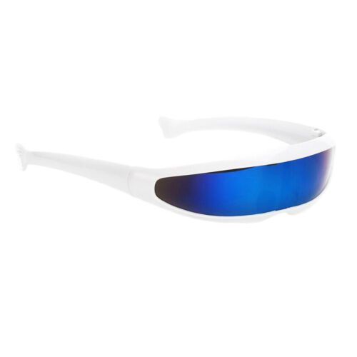 Unisex Funny Space Robot Party Costume Futuristic  Cosplay Sunglasses