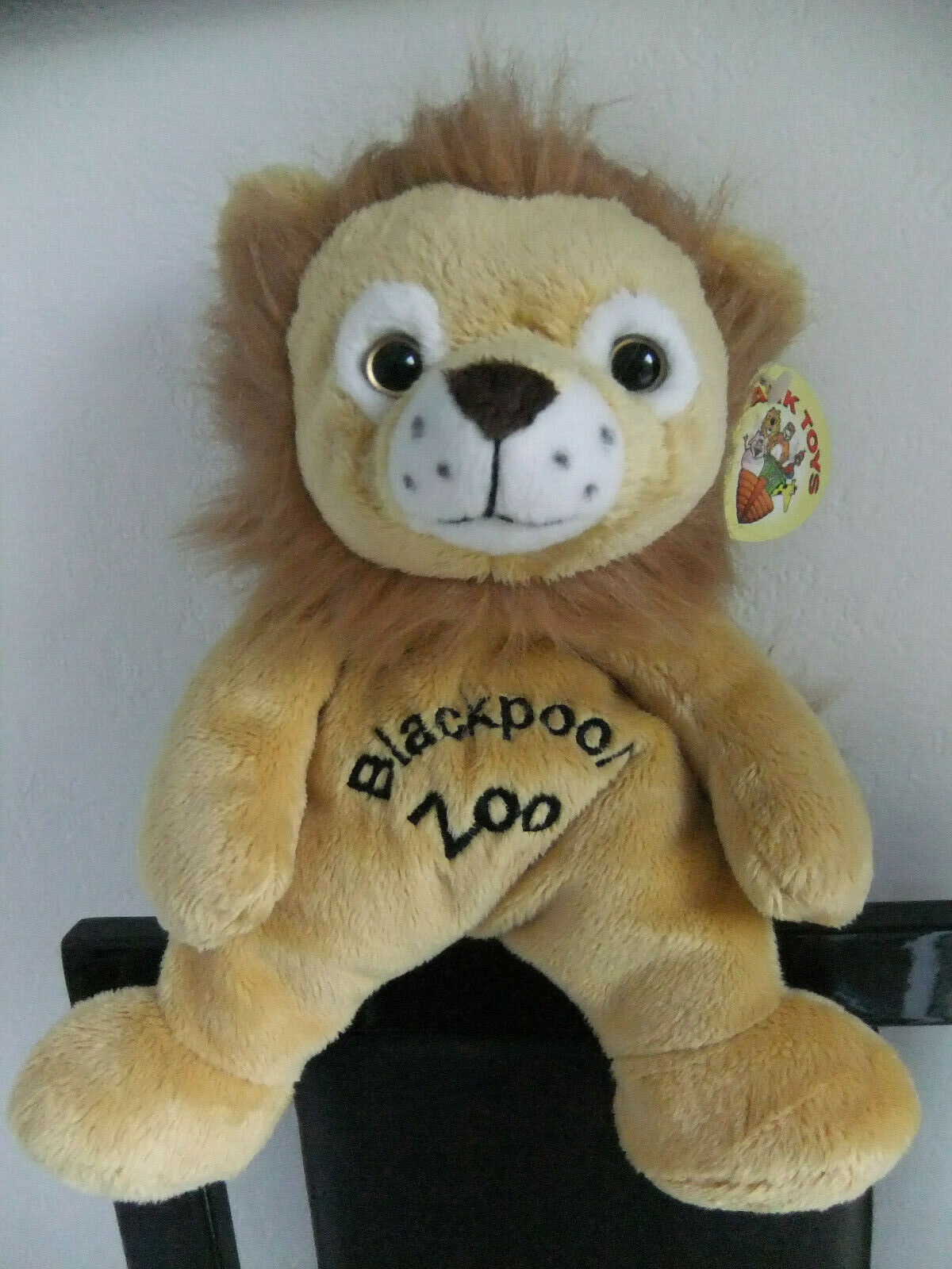 9  ARK TOYS YELLOW BROWN LION CAT SOFT CUDDLY TOY TEDDY BEAR NEXT EASTER ZOO