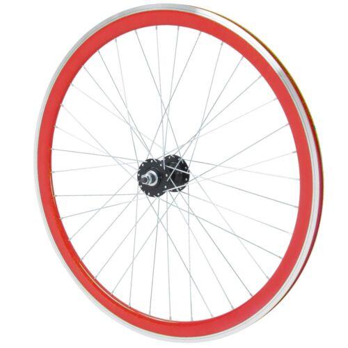 Fahrrad Felge 700c Galano Blade 28 Zoll Fixie Laufrad Singlespeed rot B-Ware