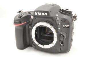 Near-Mint-Nikon-D7100-24-1MP-Digital-Camera-Body-Black-w-Charger