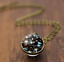 Solar-System-Pendants-Necklace-Galaxy-Planet-Necklace-S-Double-Sided-Glass-Dome thumbnail 13