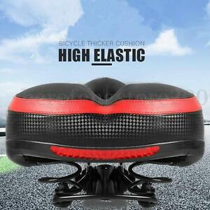 Wide-Big-Bum-Road-Mountain-MTB-Saddle-Bike-Bicycle-Cycling-Seat-Soft-Cushion-AU