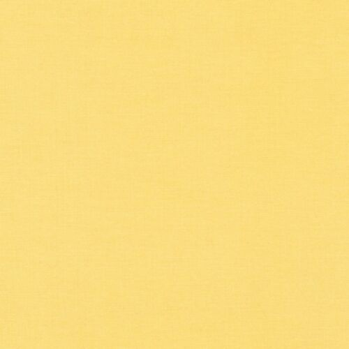 """Kona Cotton-/""""Buttercup/""""-By The Yard-R Kaufman-Solid Color"""