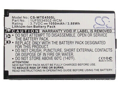 HQRP Battery for Wacom Bamboo CTH-470 CTH-670 CTL-470 CTL-471 PTH-450