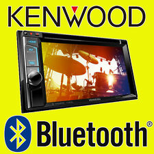 "Kenwood Car CD DVD USB Double Din Stereo Bluetooth iPod iPhone 6.2"" DAB Radio"