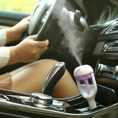 25ML Car Air Humidifier Diffuser Vehicular Essential Oil Ultrasonic Aroma Mist