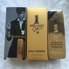1 One Million By Paco Rabanne 3.4oz 100ml Cologne EDT French Men's Perfume Spray