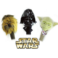 Golf Head Cover 3pc Star Wars 460cc Driver Wood Set Sporting Goods Headcover on sale