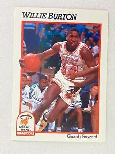 Willie-Burton-Miami-Heat-1991-NBA-Hoops-Basketball-Card-107