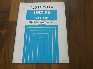 TOYOTA-MOTOR-1MZ-FE-CAMRY-MCV20-Emission-Abgasreinigung-WERKSTATT-HANDBUCH