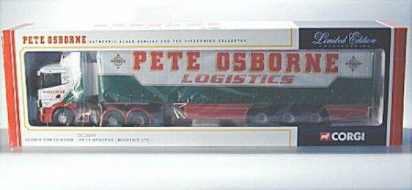 SCANIA curtainside-pete OSBORNE Logistics ltd-modern CAMION, Corgi, 1 50